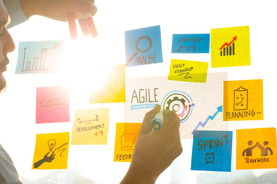 The 4 Values and 12 Principles of Agile Project Management