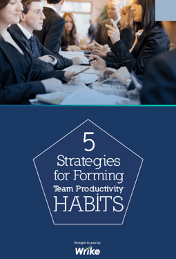 5 Strategies for Forming Team Productivity Habits (in inglese)