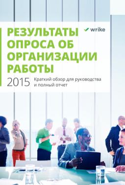 Отчет об организации работы за 2015 год