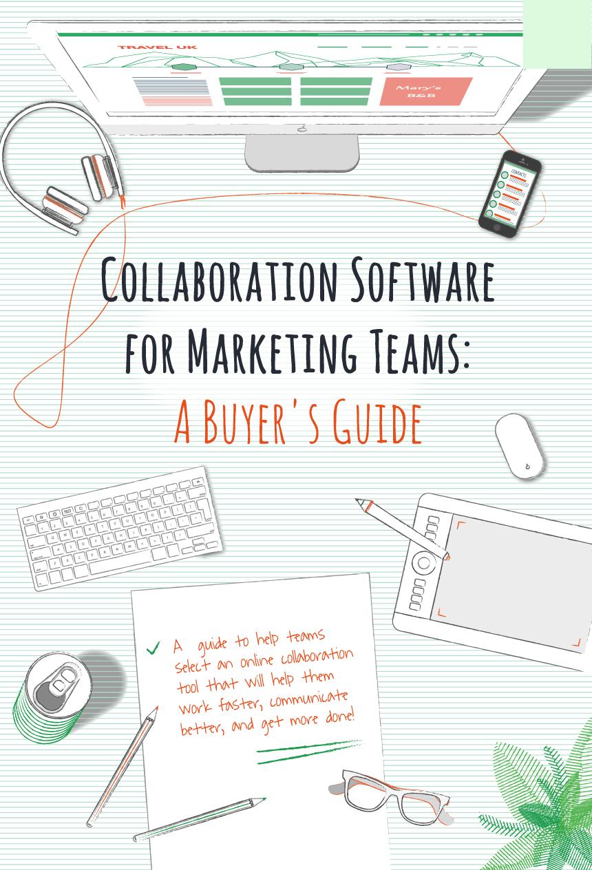 マーケティングチーム向けのコラボレーションソフトウェア:購入者ガイド