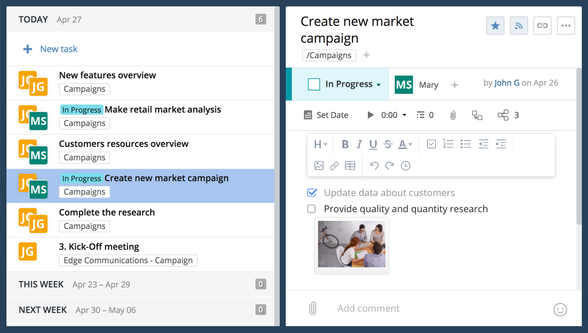 Trigger new projects from Salesforce