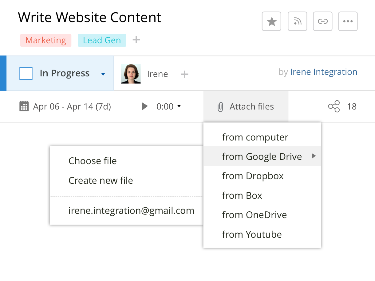 Project Management for Google Apps: Wrike