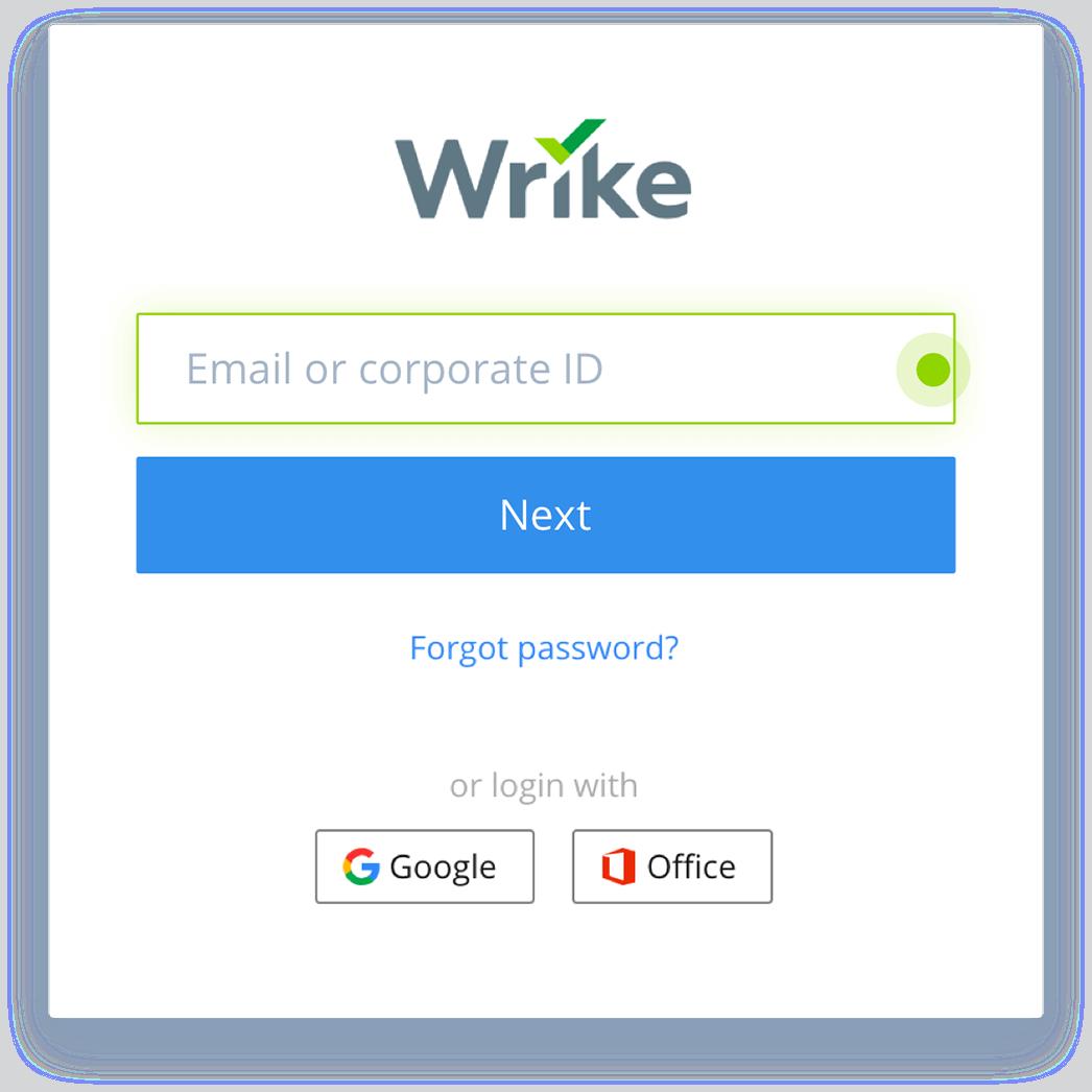 Wrike Single Sign-On through SAML Integration