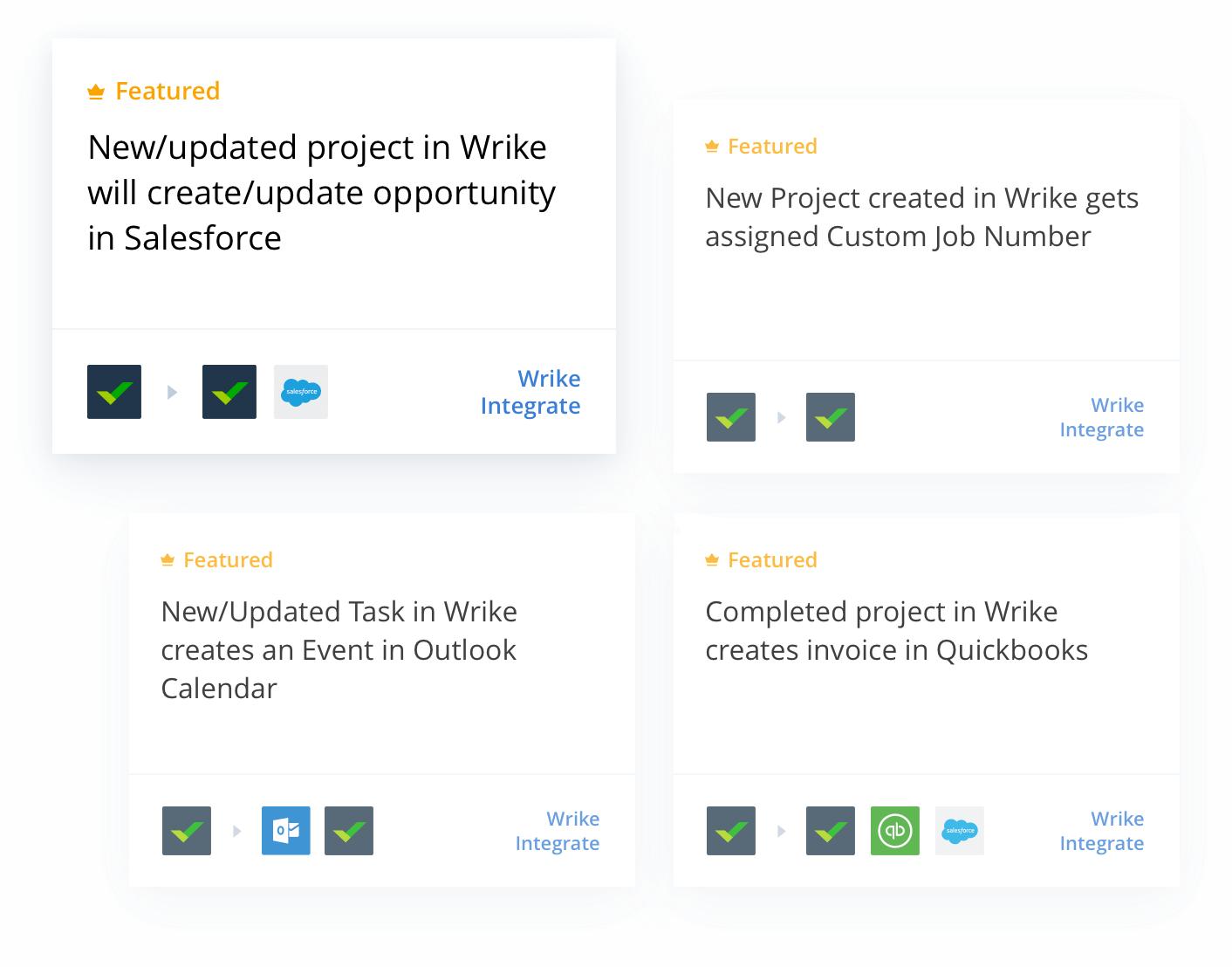 Wrike Integrate - An Integration and Automation Add-on
