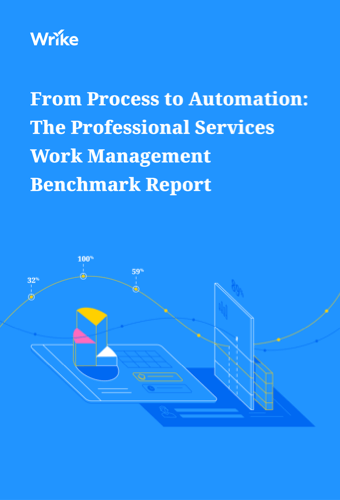 The professional services work management benchmark report