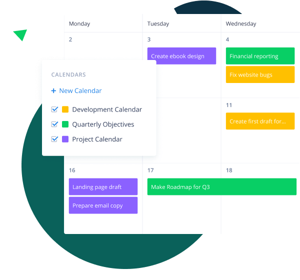 Stay on Top of Your Schedules with Wrike's Calendars