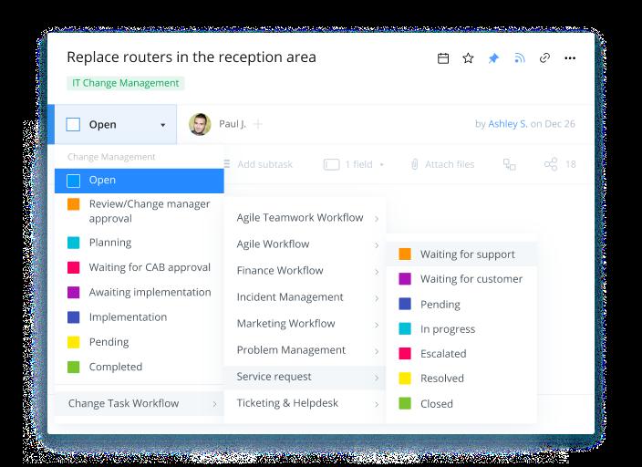 Create customized workflows