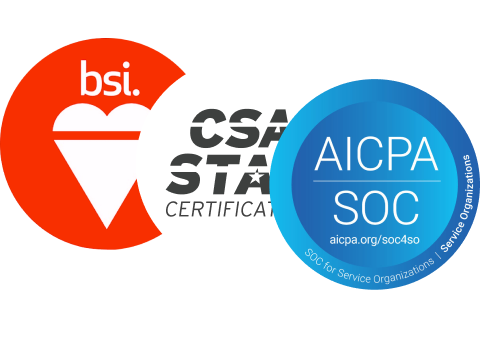 ISO/IEC 27001, ISO/IEC 27017, ISO/IEC 27018, ISO/IEC 27701 and CSA STAR Level 2