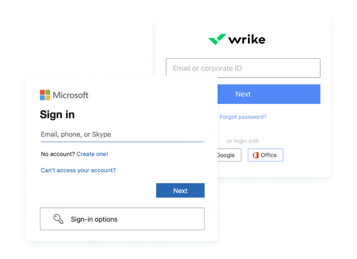 Provision and sign-on easily
