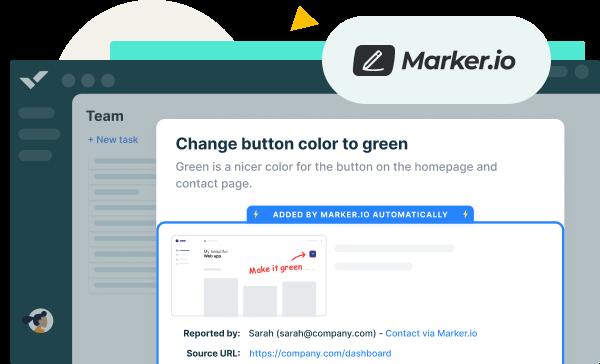 Marker.io App Integration