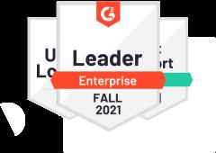 Fall 2021 Leader (15 Awards)