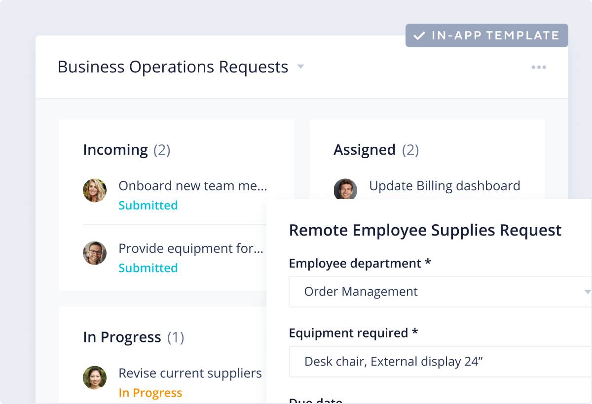 Business Operations Template