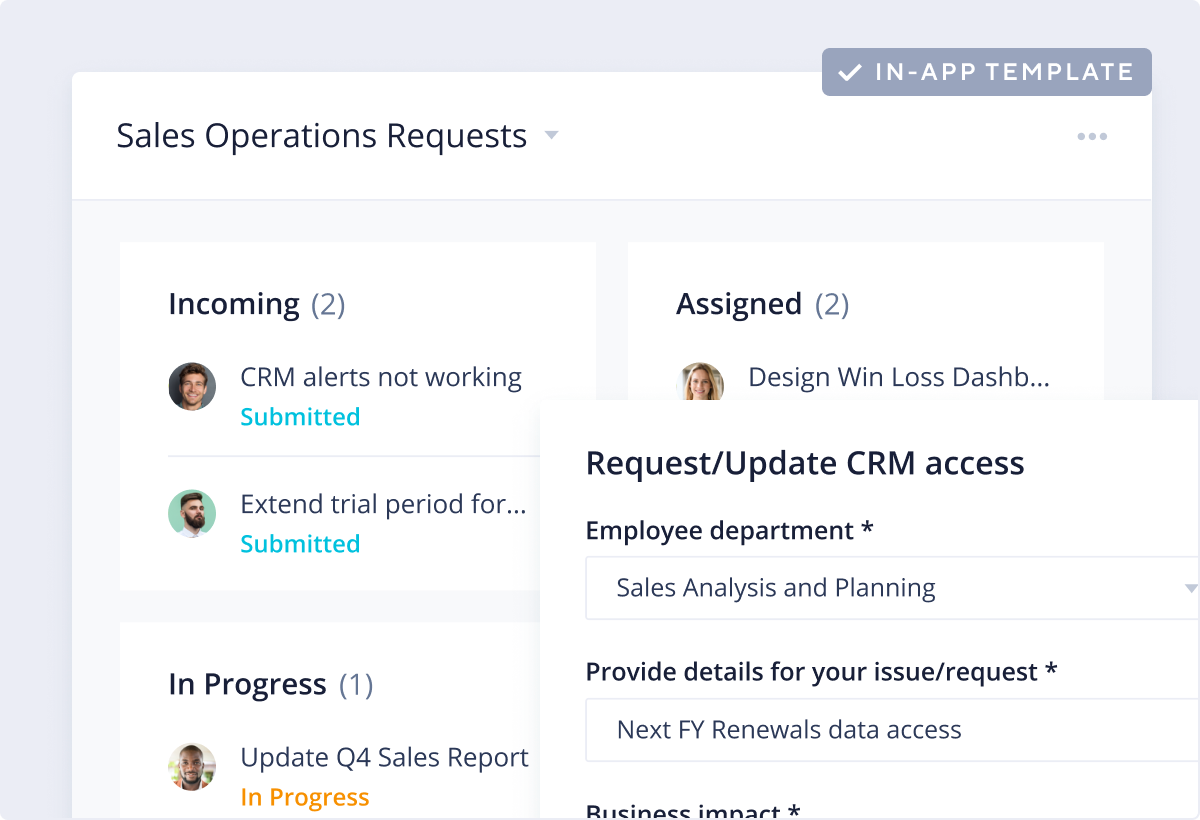 Sales Operations Template