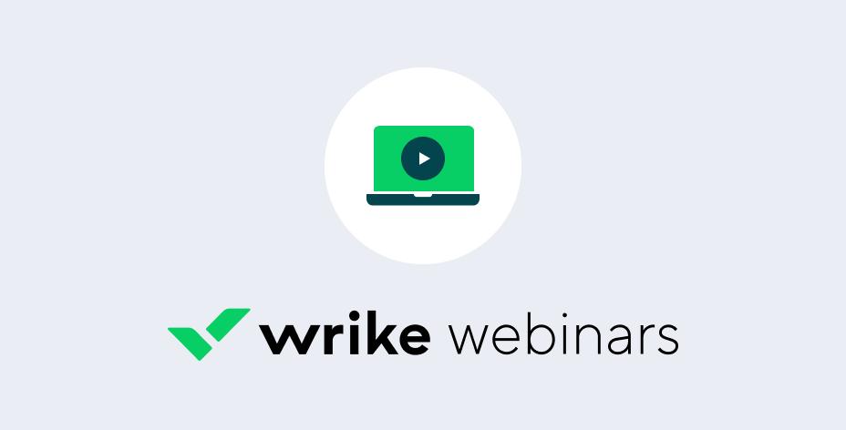 Webinar: Effiziente Wrike-Nutzung für Marketing-Teams